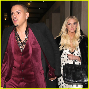 Ashlee Simpson & Evan Ross Make It Date Night in London!