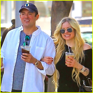 Avril Lavigne & Boyfriend Phillip Sarofim Do Some Shopping in Beverly Hills!