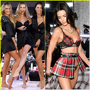 Backstage At Victoria S Secret Fashion Show 2018 Best Photos