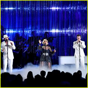 Bebe Rexha & Florida Georgia Line Perform 'Meant To Be' at CMA Awards 2018
