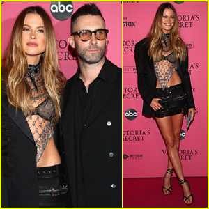 Adam Levine Supports Wife Behati Prinsloo at Victoria's Secret Fashion Show 2018 After Party!