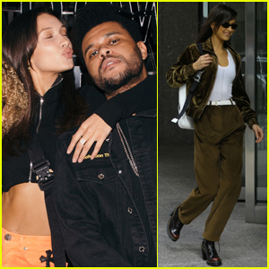 Bella Hadid & The Weeknd Couple Up to Celebrate 'Hxouse' Launch in Toronto