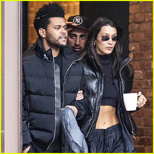 Bella Hadid Brings Her Own Coffee Cup With Her While Running Errands in NYC
