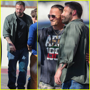 Ben Affleck Meets With Fans While Filming 'Torrance' in LA