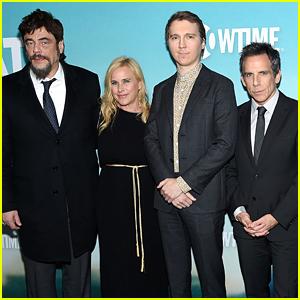 Ben Stiller Joins Patricia Arquette, Benicio Del Toro, & Paul Dano at 'Escape at Dannemora' Premiere