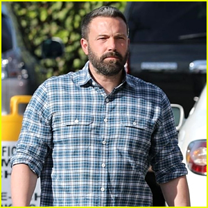Ben Affleck Heads to a Sunday Church Service With the Kids!