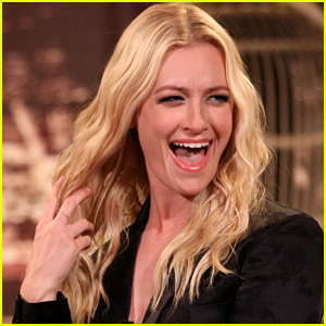 Beth Behrs Reveals the Embarrassing Thing That Happened to Her During Goat Yoga - Watch!