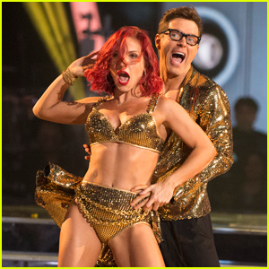 Bobby Bones & Sharna Burgess Cha-Cha-Cha Into the 'Dancing With The Stars' Finale - Watch!