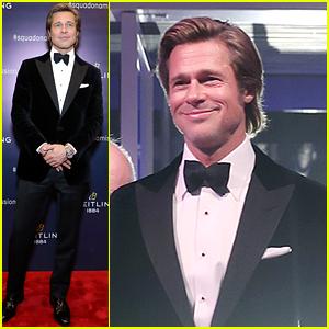 Brad Pitt Looks So Dapper at Breitling Gala in Beijing!