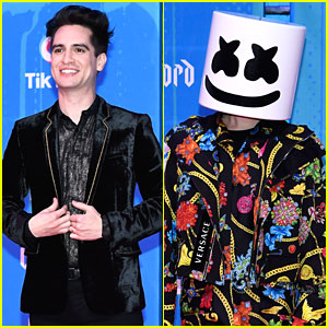 Brendon Urie, Marshmello, & More Performers Arrive at MTV EMAs 2018