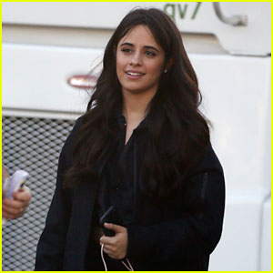 Camila Cabello Shoots a New Music Video While Out in LA!