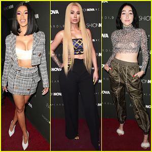 Cardi B Gets Star-Studded Support at Fashion Nova Collaboration Launch!