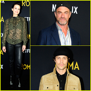 Carla Gugino, Miles McMillan, Christopher Meloni & More Support 'Roma' NYC Screening!