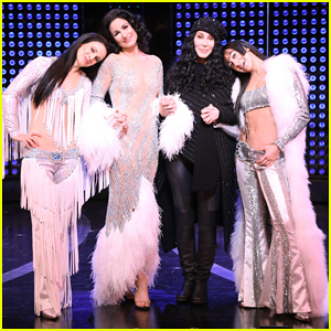 Cher Surprise Visits Her Own Biopic Broadway Musical, 'The Cher Show'!