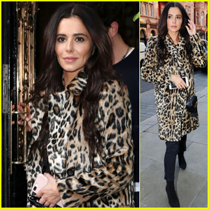 Cheryl Looks Chic While Heading to a Lunch Meeting With Nick Grimshaw