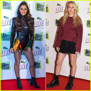 Cheryl & Ellie Goulding Attend Hits Radio Live 2018 in Manchester!