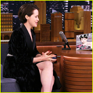 Claire Foy Perfectly Raps 'Rapper's Delight' Word-for-Word on 'Fallon' - Watch Here!