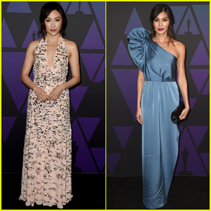 Constance Wu & Gemma Chan Join 'Crazy Rich Asians' Co-Stars at Governors Awards 2018!