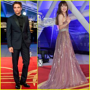 Dakota Johnson & Robert Pattinson Celebrate Opening Night of Marrakech International Film Fest