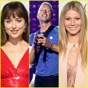 Dakota Johnson Spent Thanksgiving With Chris Martin, Gwyneth Paltrow & Their Children! (Report)