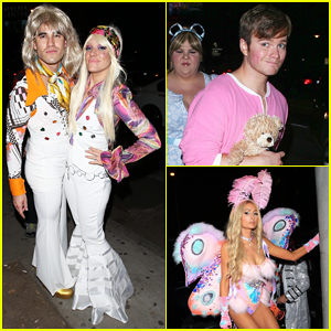Darren Criss & Fiancee Mia Swier Are ABBA on Halloween!