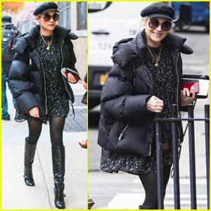 Diane Kruger Bundles Up to Run Errands in New York City