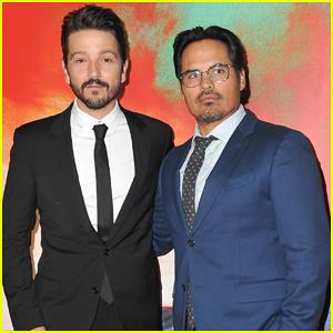 Diego Luna & Michael Pena Celebrate 'Narcos: Mexico' Season 1 Premeire - Watch Trailer!