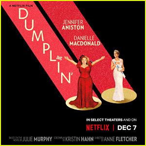 Jennifer Aniston & Danielle Macdonald Star in 'Dumplin'' - See the Poster & Stills!