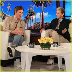 Eddie Redmayne Tells Ellen He Needs 'Sleep Spell' For Son Luke!
