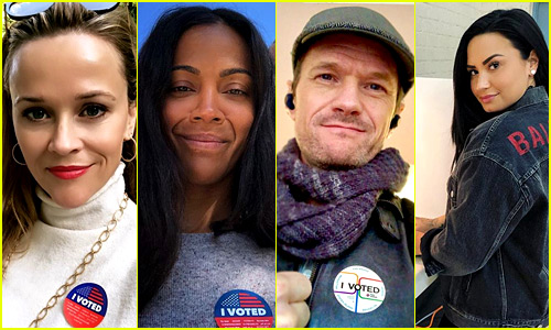 These Celebs Were Proud to Vote in 2018 Midterm Elections