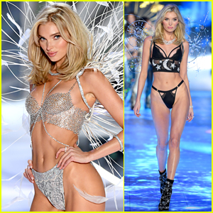 2315561c69d Elsa Hosk Sparkles in Dream Angels Fantasy Bra at Victoria s Secret Fashion  Show 2018!