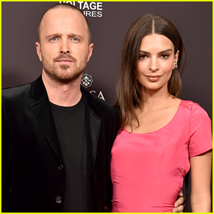 Aaron Paul & Emily Ratajkowski Attend 'Welcome Home' Premiere in West Hollywood