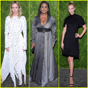 Emily Blunt, Uzo Aduba & Karlie Kloss Show Their Style at CFDA & Vogue Anniversary Event