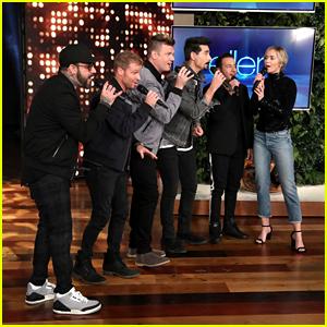 Emily Blunt Gets a Backstreet Boys Surprise on 'Ellen' - Watch!