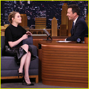 Emma Stone Tells 'Fallon' She Changed Her Name to 'Emma' Because of Baby Spice - Watch Here!