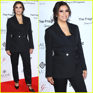 Eva Longoria Has Date Night With Victoria Beckham at Global Gift Gala in London!