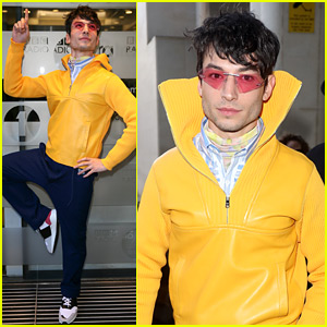 Ezra Miller Pops in Prada While Doing 'Fantastic Beasts' Press