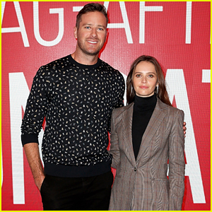 Felicity Jones & Armie Hammer Promote 'On the Basis of Sex' Before Ruth Bader Ginsburg Gets Hospitalized