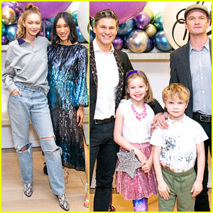 Gigi Hadid Joins Neil Patrick Harris & David Burtka at Eva Chen's Children's Book Debut