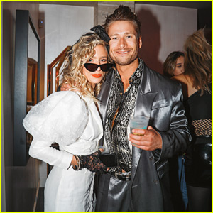 Glen Powell Celebrates 30th Birthday with Girlfriend Renee Bargh at '80s Themed Party!