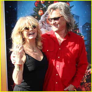 Goldie Hawn & Kurt Russell Couple Up at 'The Christmas Chronicles' LA Premiere