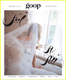 Gwyneth Paltrow Covers 'goop' Magazine in Her Wedding Dress!