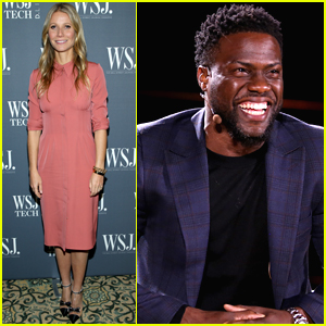 Gwyneth Paltrow & Kevin Hart Speak at WSJ's Tech D. Live Conference