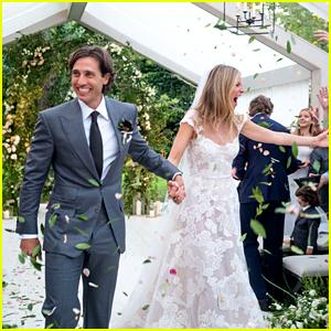 Gwyneth Paltrow Shares First Wedding Photo With Brad Falchuk!
