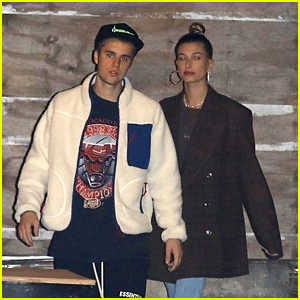 Justin & Hailey Bieber Attend Church Together in Beverly Hills