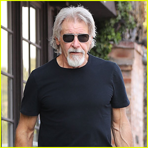 Harrison Ford Shows Off His New Goatee! | Harrison Ford