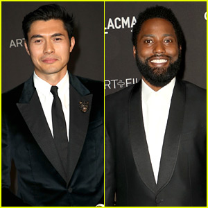 Henry Golding & John David Washington Look So Suave at LACMA Gala 2018!