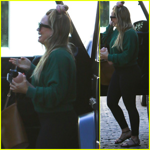 Hilary Duff Steps Out One Week After Giving Birth to Her Daughter!