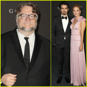 Honoree Guillermo del Toro Arrives at LACMA 2018 Alongside Damien Chazelle & Wife Olivia!