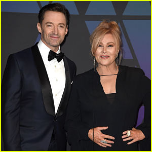 Hugh Jackman & Wife Deborra-Lee Furness Hit the Red Carpet at Governors Awards 2018
